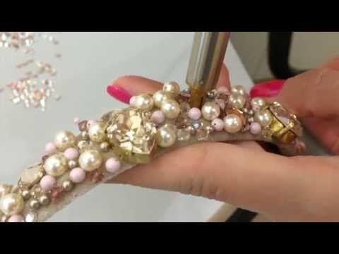 #9. Ободок для волос в кристаллах Сваровски - YouTube
