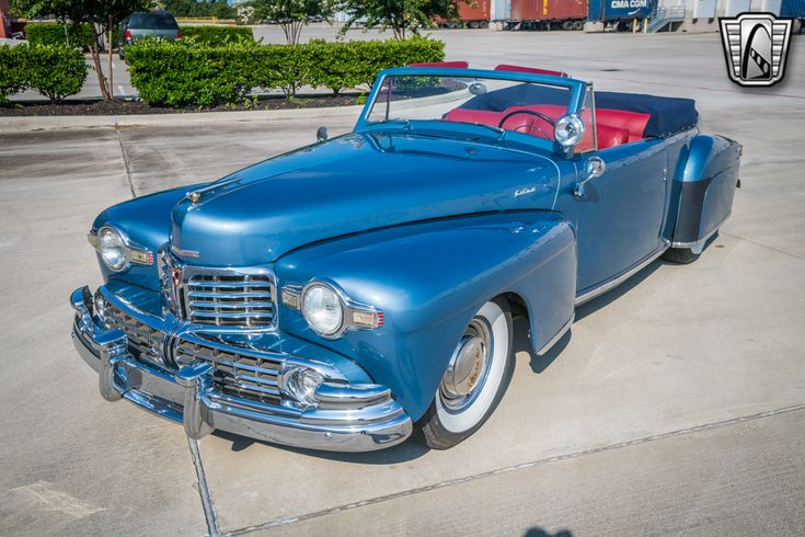 1948 Lincoln Continental Series 876H