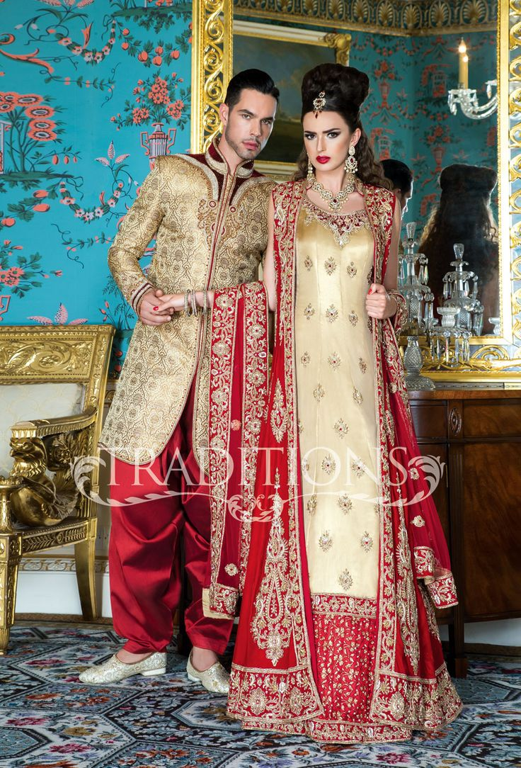 1000 images about asian indian and pakistani bridal wear for Pakistani wedding traditions