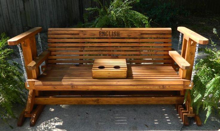 5 футов ручной работы Южная стиль планер качели, патио, палуба, двора, сада, крыльцо, мебель