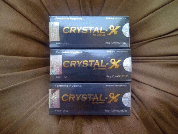 Obat Kesehatan Wanita Crystal X by PT.NASA - http://warongmuslim.com/obat-kesehatan-wanita/obat-kesehatan-wanita-crystal-x-by-pt-nasa/
