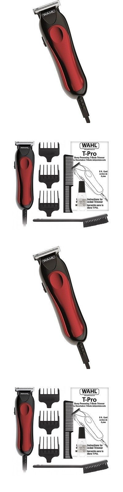 Shaving: T Wahl Trimmer Pro Hair Corded Blade Kit Beard Clipper Shaver Shave Professional -> BUY IT NOW ONLY: $32.51 on eBay!
