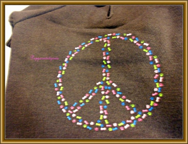 Dog Casual Canine Peace Sign Bones & Paw  Hoodie -Top Sweatshirt Brown XSM tags  #CasualCanine Pets stay super groovy in this Casual Canine® Peace Sign Hoodie.  Full of charm, this sweatshirt is made of easy-care polyester  and  features a colorful bone and paw peace sign on the back.