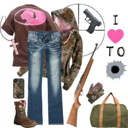 Mossy Oak Camo Outfit