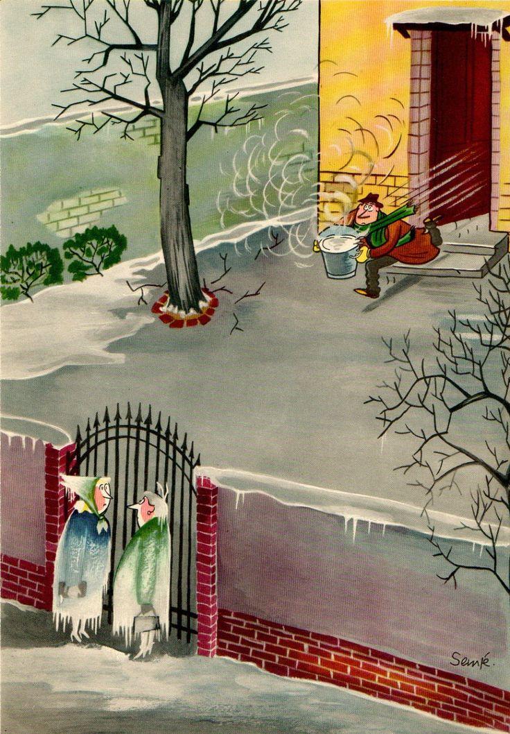 Comment attraper un rhume à Paris, 1957