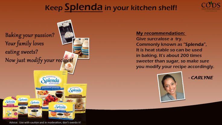 Cook with a sweetener! #sweetener #diet #codsindia #splenda