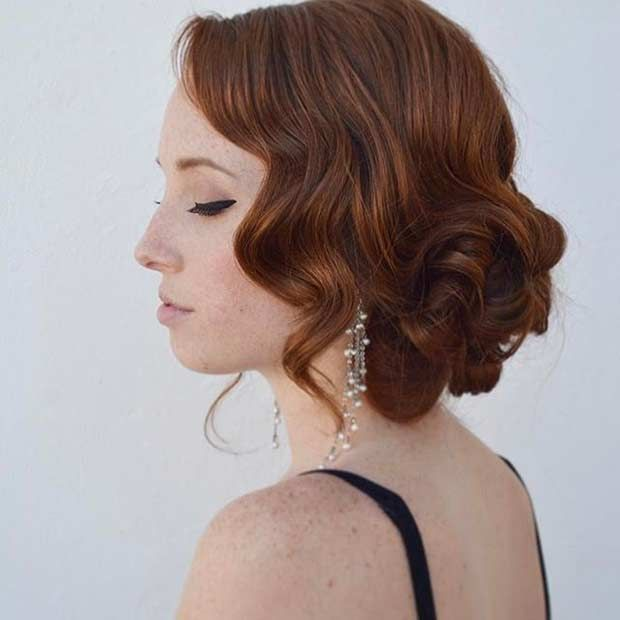 Cute Short Hairstyles For Prom : Best vintage updo ideas on bridal