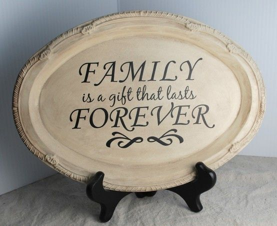 Made from $store silver tray and vinyl sticker!...would be super cute as decoration above kitchen cabinets