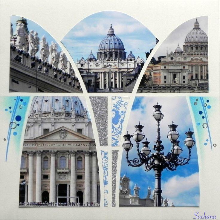 Vatican. Gabarit Ogive d'Easy Scrap
