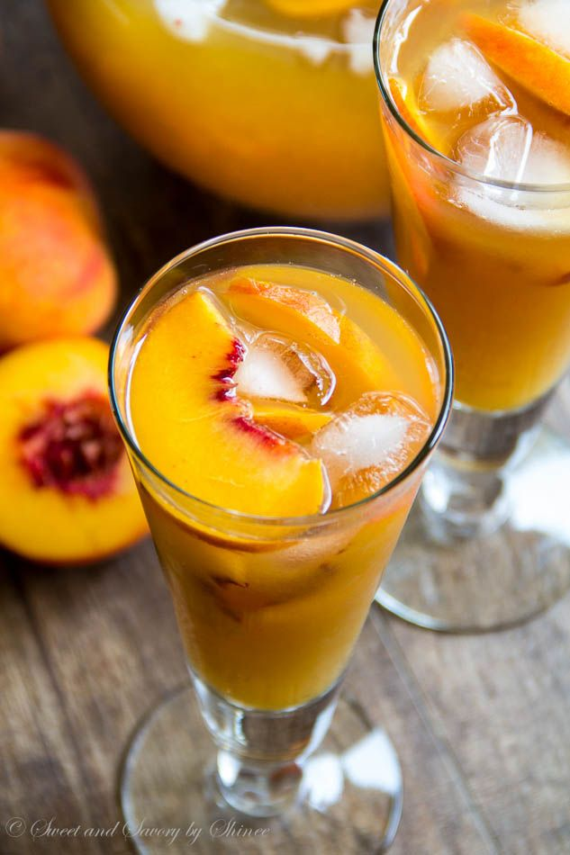 A tall glass of ice-cold peach iced tea is just what you need to quench your thirst on a hot day. Honey sweetened peachy iced tea perfection...
