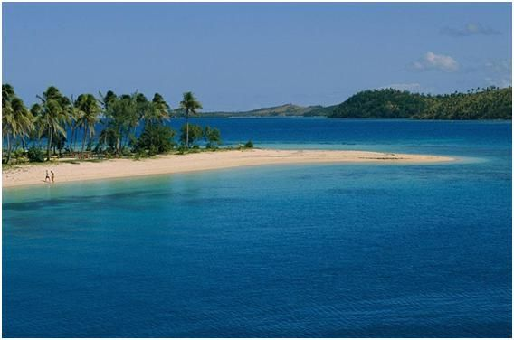 Turtle Island, Fiji  Once you get there, you'll see that Fiji is nothing as seen on brochures. It is far more beautiful! Turtle island itself has more than half a million trees planted by its owner, numerous private beaches, luxurious (and Eco friendly!) villas… Get on that plane and get ready for the lifetime experience!