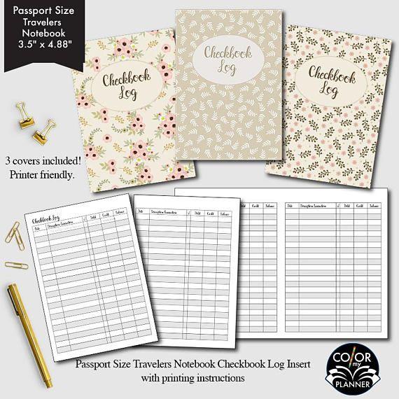 De 25+ bedste idéer inden for Checkbook register på Pinterest - printable check register