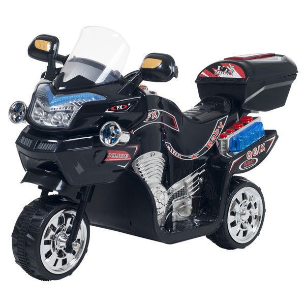 black motorcycle ride on toys new battery powered electric cars for kids to ride