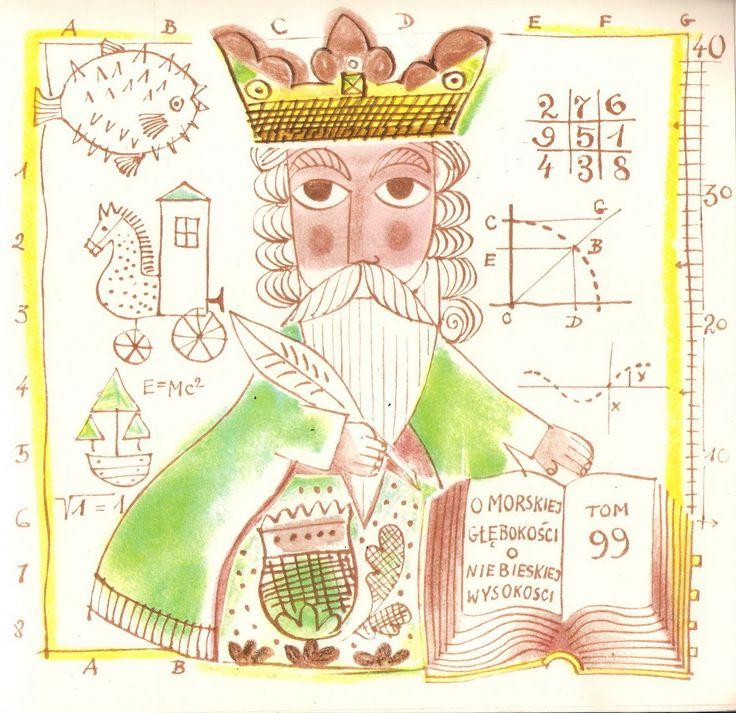 Adam Kilian – Illustration for Anna Kamienska's Zajeczy Palac