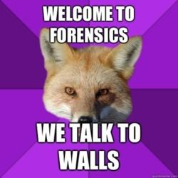 <> Forensics Fox I love him and can't wait for season to start already