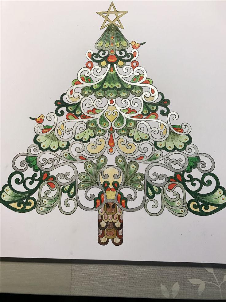Juletrae Fra Johanna Basfords Den Dejlige Juletid