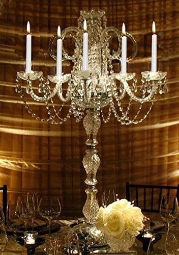 Best crystal candelabra ideas on pinterest