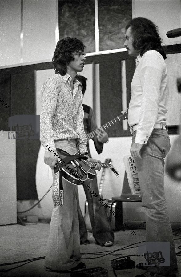 Rolling Stones At Dynamic Sound Studio 1972 Reggae