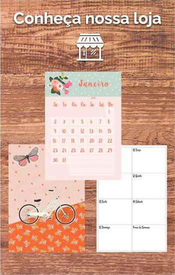 Baixe grátis e imprima os acessórios para planner. Stickers, bolso e marcadores de páginas muito fofos.