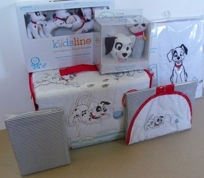 Disney 101 Dalmatians 10pc Crib Bedding Set New | eBay