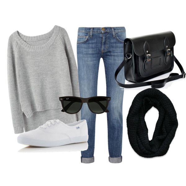 In love with the chic simplicity of this outfit for fall