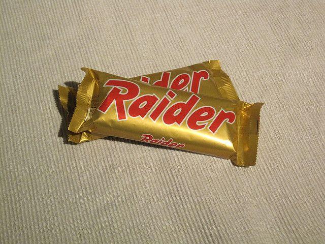 Noi che il twix si chiamava Raider