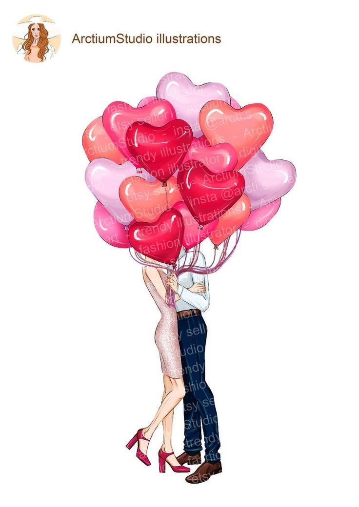 Download Red girly clipart, fashionista clipart, couple heart ...