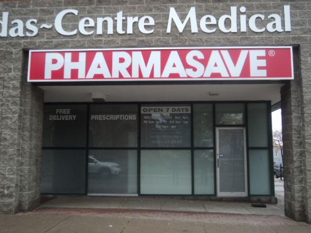 Pharmasave Storefront Fascia Portfolio Signs Pinterest