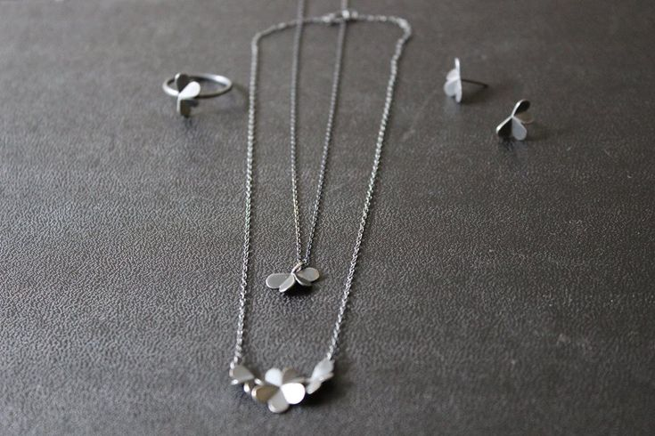 #leifoojewelry #jewelry #oxidezedjewelry #style#delicate #clovers #collection