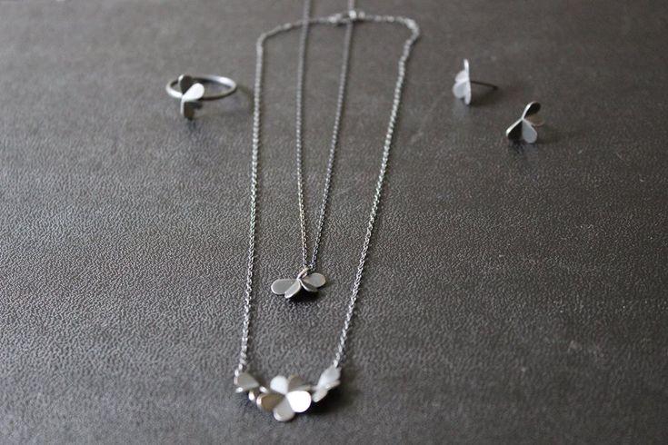#leifoojewelry#jewelry#oxidezedjewelry#style#delicate#clovers#collection