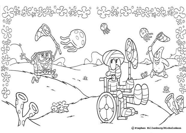 74 best coloring pages images on Pinterest Coloring pages, Print - copy fun coloring pages spongebob