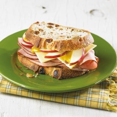 Sandwich divin au jambon forêt noire