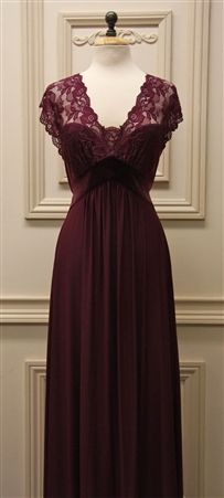 Jonquil nightgown. I'll take one! And wear it tonight as I drink my wine and have my chocolate. : ) Perfect!