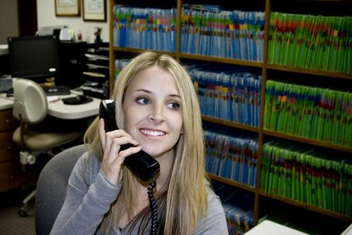 Tips for success as a medical receptionist on The Gripping Blog http://www.shoesforcrews.com