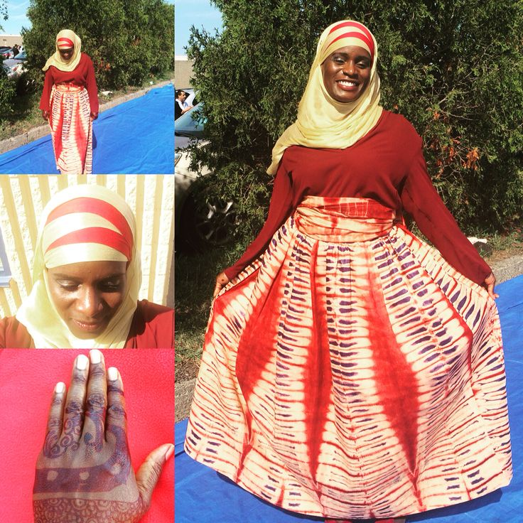 African inspired Eid Outfit
