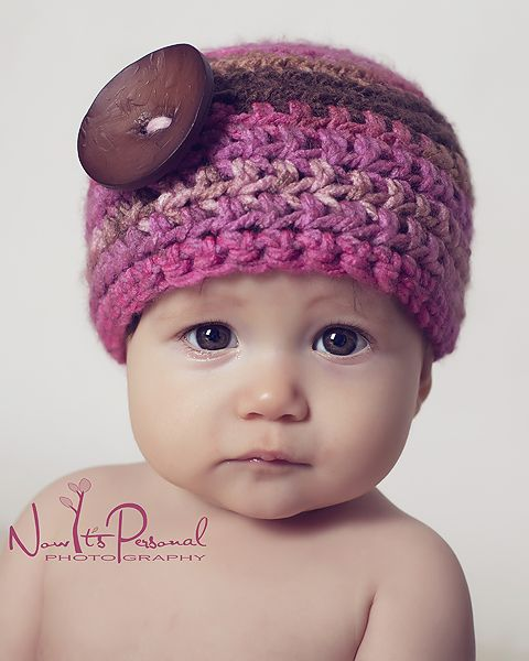 1302 best Crochet Baby Hats images on Pinterest | Crocheted hats ...