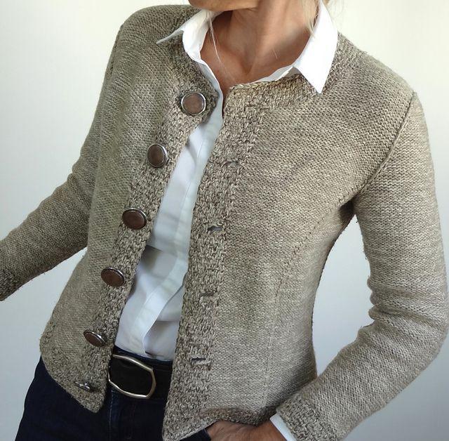 Ravelry: Nearly Chanel pattern by Jutta von Hinterm Stein