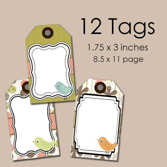 This makes me want to do a craft show! Adorable and affordable!   Printable Product Tags--Printable Tags--Tags to Print--Price Tags--Printable Price Tags--DIY Tags