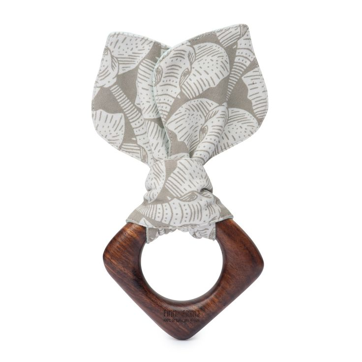 Shop the Toddler Teething Ears - Elephants at Finn + Emma, where we bring you modern, 100% organic clothes and toys for baby. Our products are all non-toxic and ethically produced.