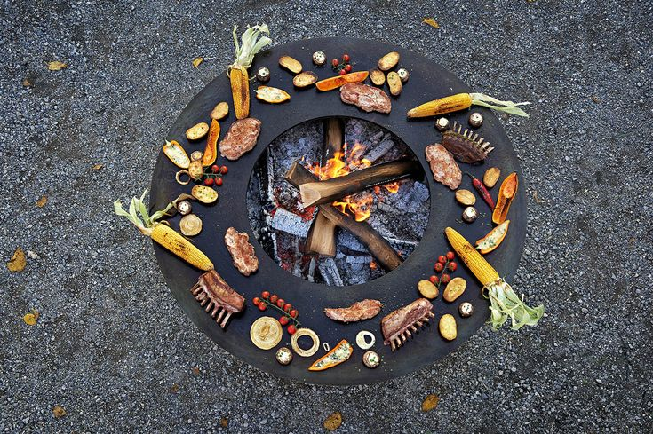 Grill for Outdoorkuche mit grill