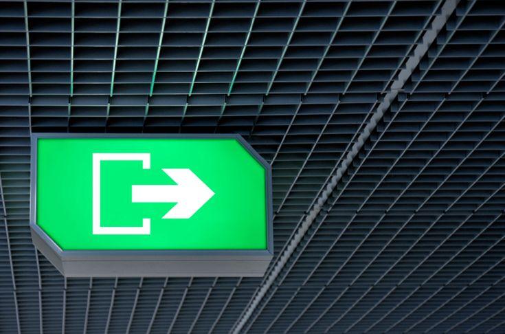 Ikonik Hotel Exit Wayfinding Signage