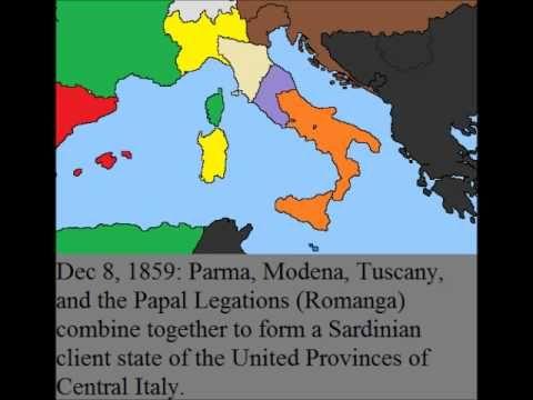 ▶ Risorgimento Italiano (Italian Unification) - YouTube