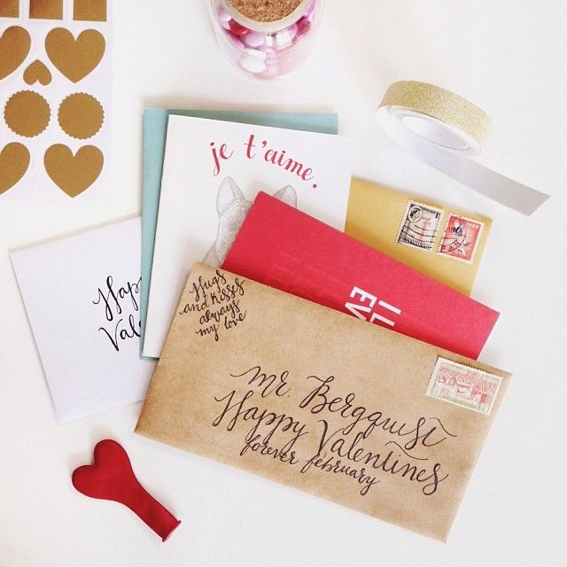 snail mail love #maraboudesign #valentinesday