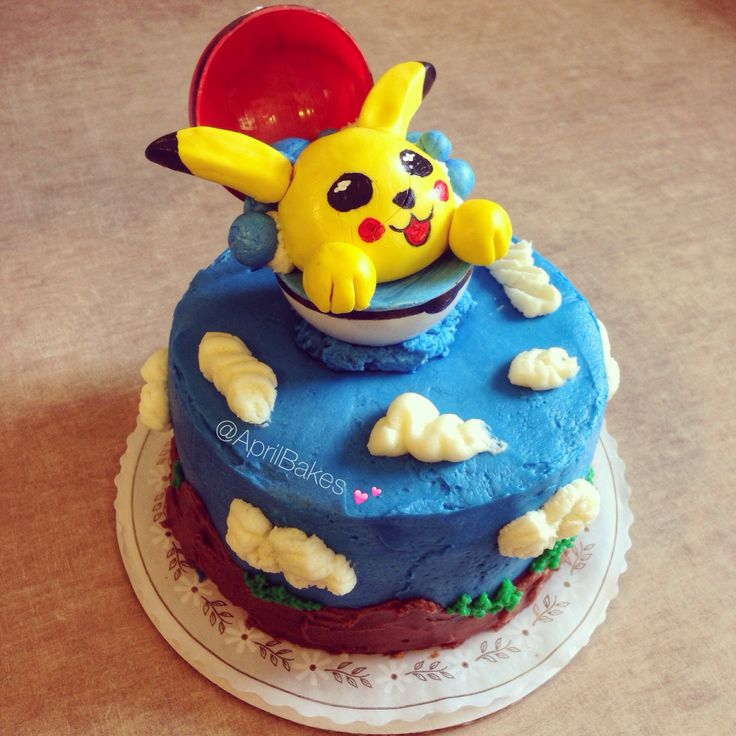 Cake Image Of Pokemon