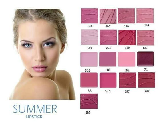 summer lipsticks:
