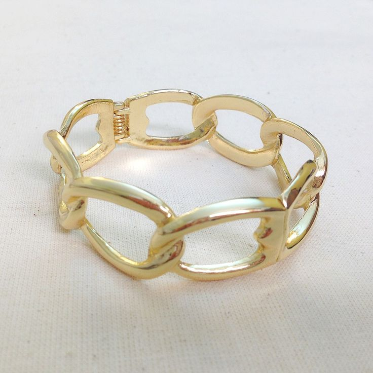 Gold Chain Design Bracelets #002