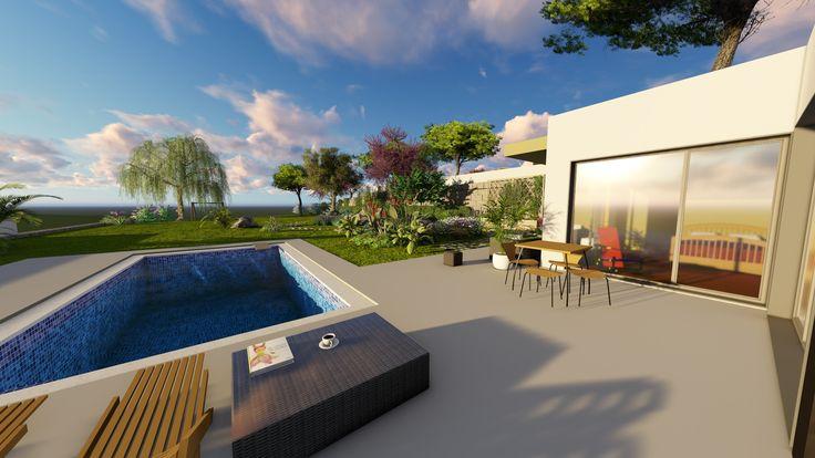 Moradia T3 em terreno de 1.260 m2 - Fanadia, Caldas da Rainha  Localizada a 5 kms da cidade de Caldas da Rainha. Com excelente vista e orientado a sul.