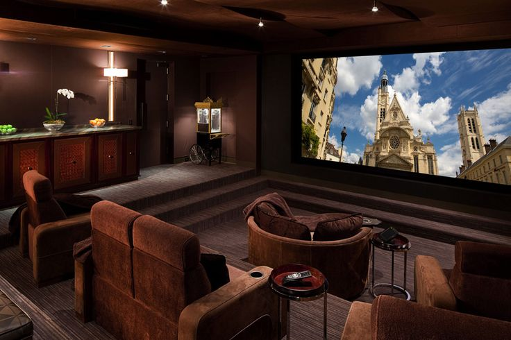 luxury home theater | Home theater screen view 1 | sick ...