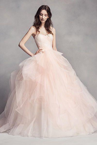 best 25 blush wedding dresses ideas only on pinterest champagne lace wedding dress blush pink wedding dress and reem acra wedding dress