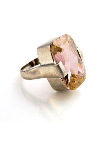 Anello quarzo rosa #summer #jewels